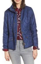 Women's Barbour Cavalry Flyweight Quilt Jacket Us / 12 Uk - Blue