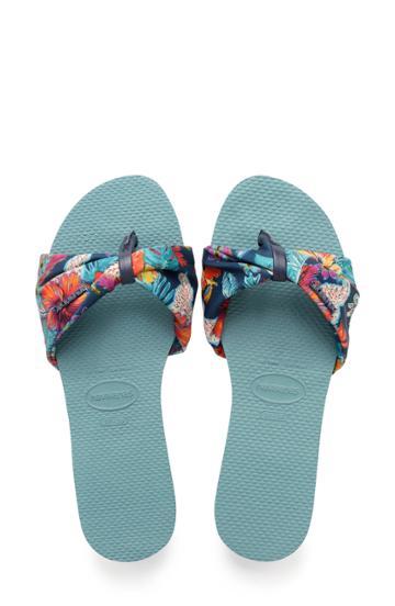 Women's Havaianas You Saint Tropez Sandal /38 Br - Blue
