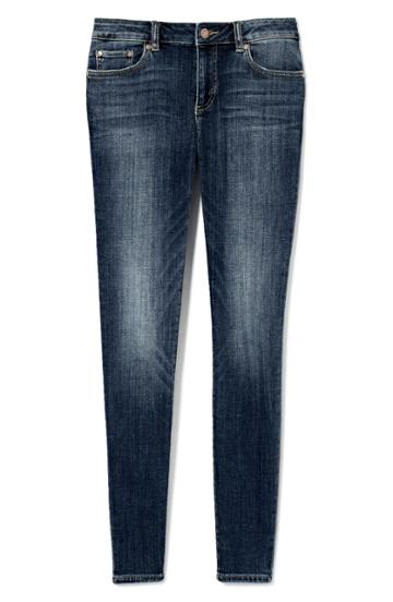 Petite Women's Vince Camuto Stretch Skinny Jeans P - Blue