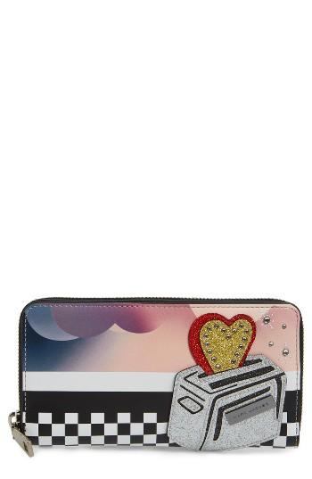Women's Marc Jacobs Clouds Leather Wallet -