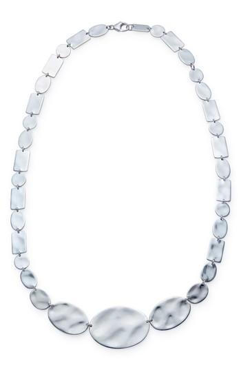 Women's Ippolita Senso Sterling Disc Necklace