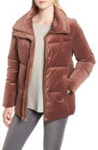 Women's Cole Haan Signature Quilted Velvet Jacket