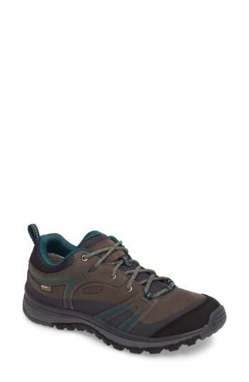 Women's Keen Terradora Waterproof Hiking Shoe .5 M - Grey