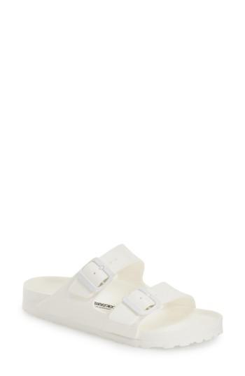 Women's Birkenstock Essentials - Arizona Slide Sandal -10.5us / 41eu B - White