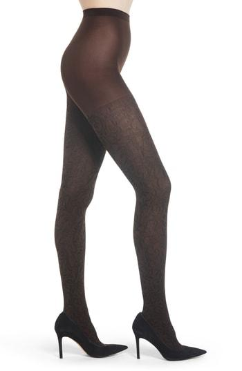 Women's Wolford Cassandra Tights - Brown