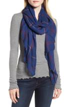 Women's Leith Dual Grid Oblong Scarf
