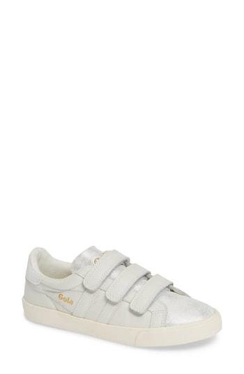 Women's Gola Orchid Sneaker M - White