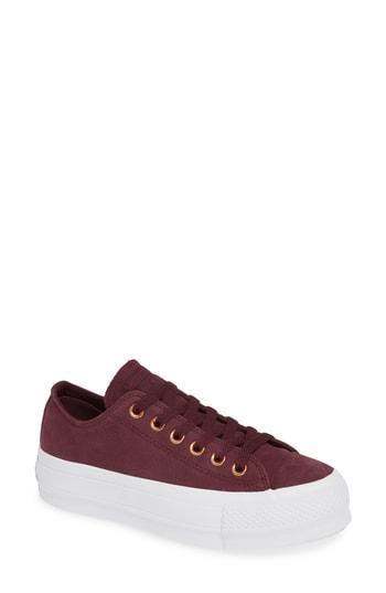 Women's Converse Chuck Taylor All Star Platform Sneaker .5 M - Metallic