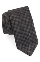 Men's John Varvatos Star Usa Dot Silk Tie, Size - Black