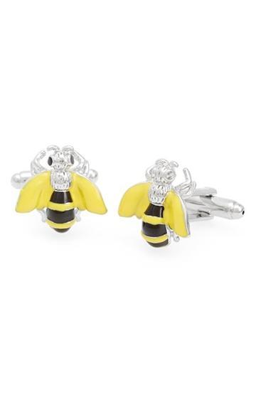 Men's Link Up 'bee' Cuff Links