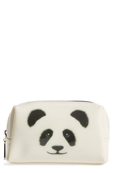 Catseye London Monochrome Panda Cosmetics Bag, Size - Panda