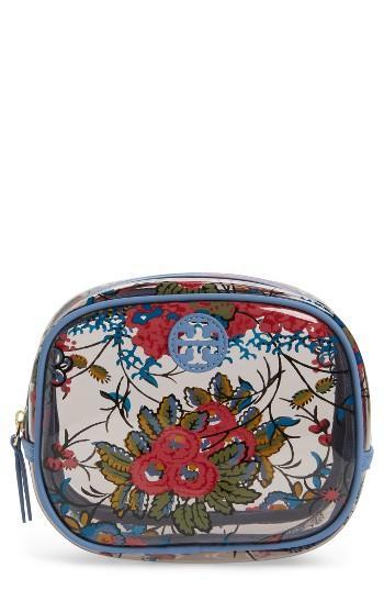 Tory Burch Parker Floral Cosmetics Case, Size - Gabriella Floral