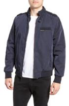 Men's Members Only Iconic Racer Jacket, Size - Blue