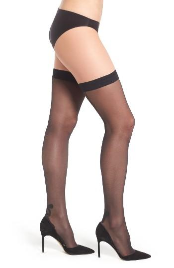 Women's Wolford Tessy Stay-up Stockings