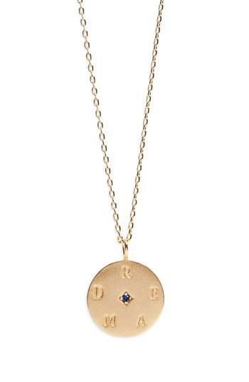 Women's Lulu Dk Pendant Necklace