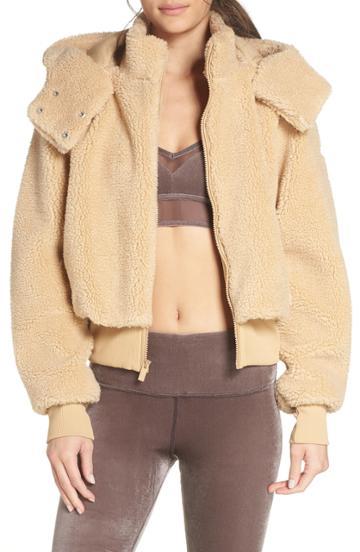 Women's Alo Foxy Faux Fur Jacket