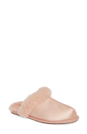Women's Ugg Scuffette Ii Satin Slipper M - Pink