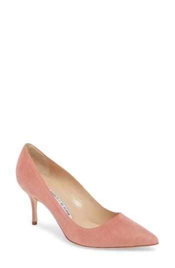 Women's Manolo Blahnik Bb Pump Us / 39eu - Pink