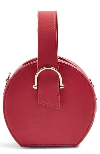 Topshop Carolina Case Crossbody Bag - Red