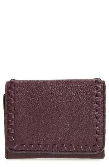 Women's Rebecca Minkoff Mini Vanity Leather Wallet - Red