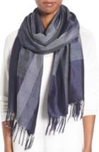 Women's Eileen Fisher Colorblock Silk Scarf