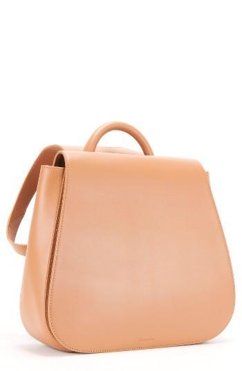 Steven Alan Kate Calfskin Leather Backpack - Brown