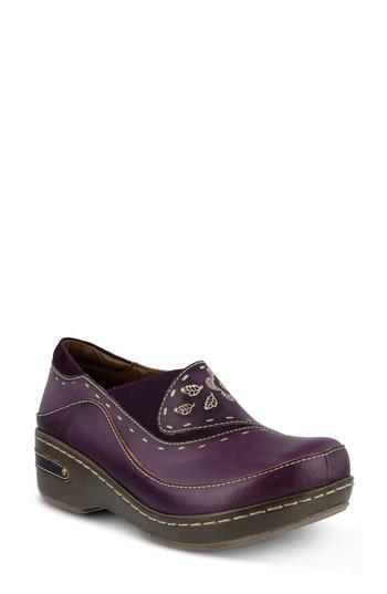 Women's L'artiste Burbank Slip-on, Size - Purple