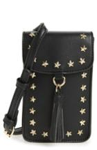 Bp. Studded Faux Leather Phone Crossbody Bag -