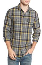 Men's 1901 Herringbone Plaid Flannel Shirt