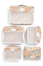 Calpak X Oh Joy! Set Of 5 Packing Cubes - Pink