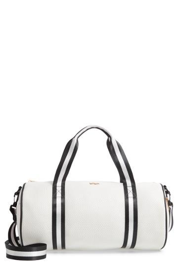 Yoki Bags Mesh Duffel Bag - White