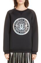 Women's Saint Laurent Oversize Hooded Sweater