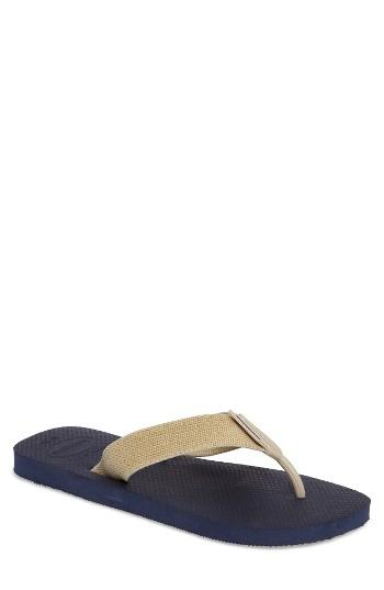 Men's Havianas 'urban Basic' Flip Flop /8 M - Beige