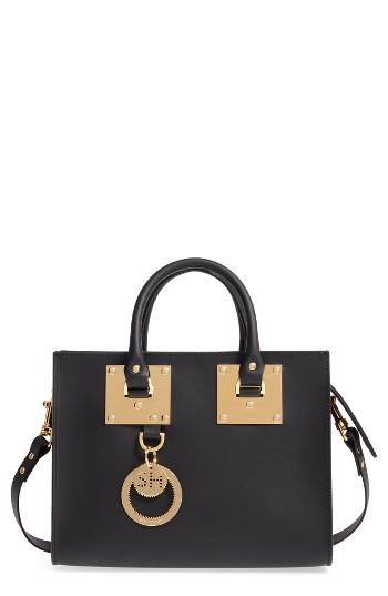 Sophie Hulme Medium Albion Leather Tote -