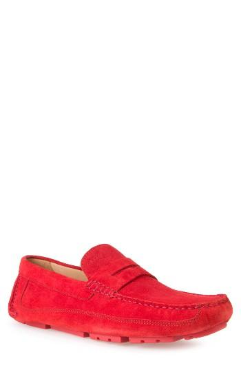 Men's Geox Melbourne 1 Driving Shoe Us / 39eu - Red
