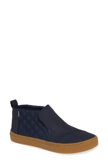 Women's Toms Paxton Slip-on Chukka Sneaker .5 B - Blue