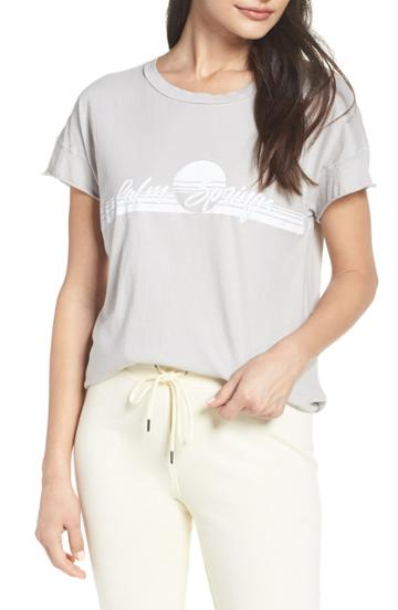 Women's David Lerner Palm Springs Lounge Tee - Grey