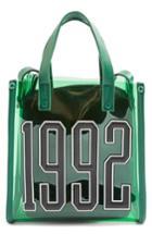 Topshop 1992 Perspex Tote - Green