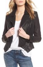 Women's Blanknyc Faux Leather Moto Jacket - Beige