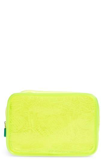 Flight 001 X-ray Neon Quart Bag - Yellow