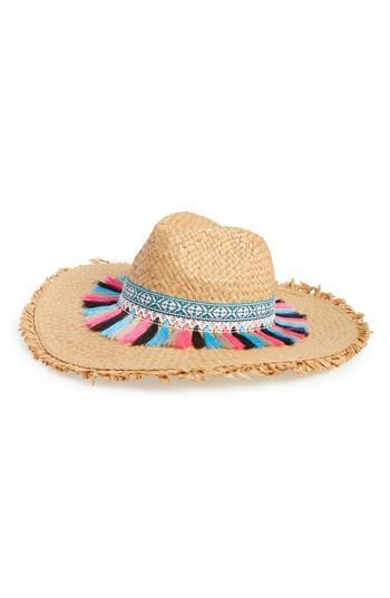 Women's Steve Madden Festival Flair Panama Hat - White