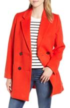 Women's Madewell Hollis Double Breasted Coat