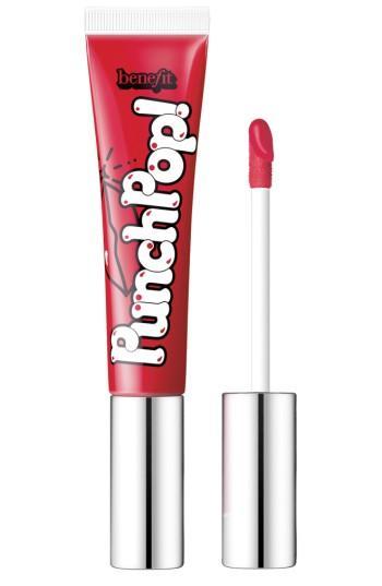 Benefit Punch Pop! Liquid Lip Color - Strawberry