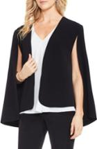 Women's Vince Camuto Milano Twill Cape Jacket