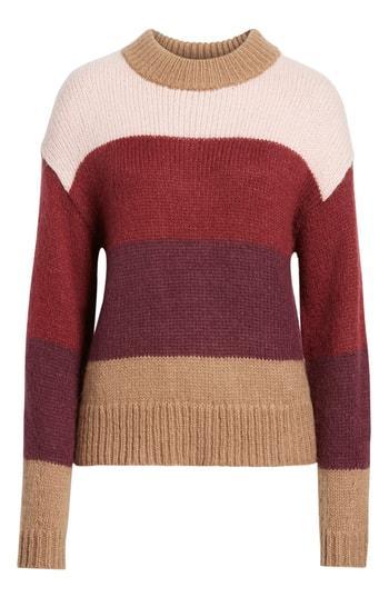 Women's Rebecca Minkoff Kendall Stripe Sweater - Beige