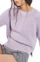 Women's Topshop Boxy Ribbed Sweater