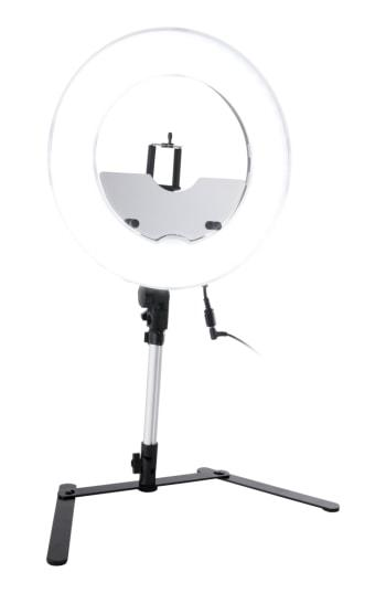 Impressions Vanity Co. 13.5-inch Desktop Dimmable Led Vanity Studio Ring Light, Size - Black