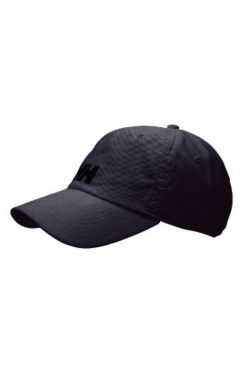 Men's Helly Hansen Logo Baseball Cap - Black