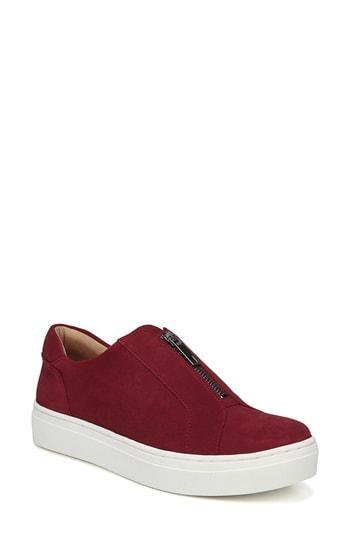 Women's Naturalizer Cyan Slip-on Sneaker M - Red