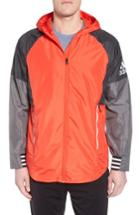 Men's Adidas Id Wovenshell Jacket, Size - Red